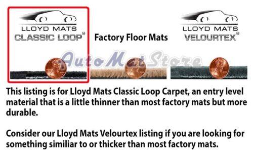 Choose Color /& Logo Chevelle-Malibu SS 4pc Classic Loop Carpet Floor Mats