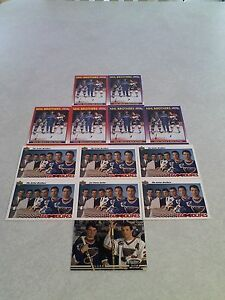 Sutter-Brothers-Lot-of-160-cards-88-DIFFERENT-Hockey