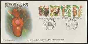 (F198)MALAYSIA 1996 PITCHER PLANTS FDC