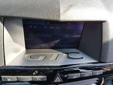Opel Astra H Display Blende OPC GTC Schriftzug Navi Navigation CID