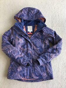 Ladies-XXS-Girls-12-Roxy-Ski-Snow-Coat-Dry-Flight-Jacket-worn-once-RRP-299-95