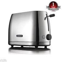 Kenwood TTM550 Polished Stainless Steel Turin 2 Slice Toaster 3000W - Brand New