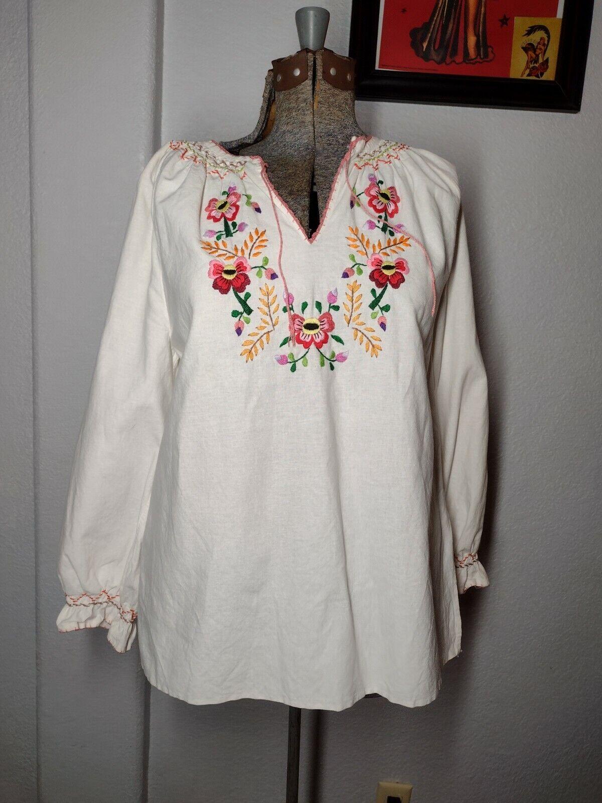vintage hungarian blouse - image 1