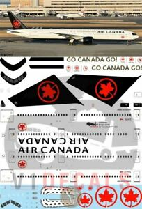 V1 Decals Boeing 777-300 Air Canada for 1/144 Revell Model Airplane Kit V1D0436