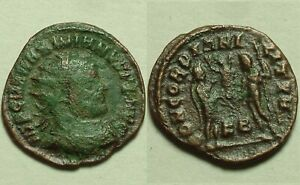 Maximianus Herculeus 293 Jupiter victory genuine Ancient Roman coin Antoninianus