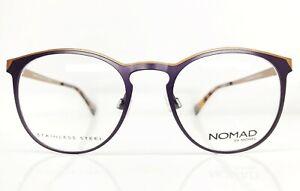 Nomad-3095N-NR020-Brille-Eyeglasses-Frame-Lunettes-Front-130mm