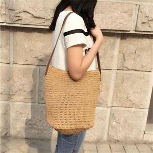 Simple-Beach-Straw-Bag-Women-Handmade-Woven-Tote-Shoulder-Bohemian-Handbag