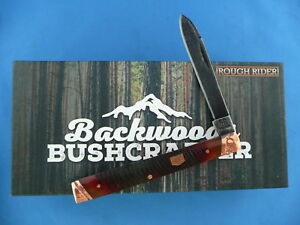 Rough-Rider-Backwoods-Bushcrafter-Doctors-Knife-Copper-Stainless-Steel-RR1844