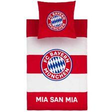 FC Bayern München Bettwäsche - rot/weiß Biber 135 x 200 cm; Kissen: 80 x 80 cm