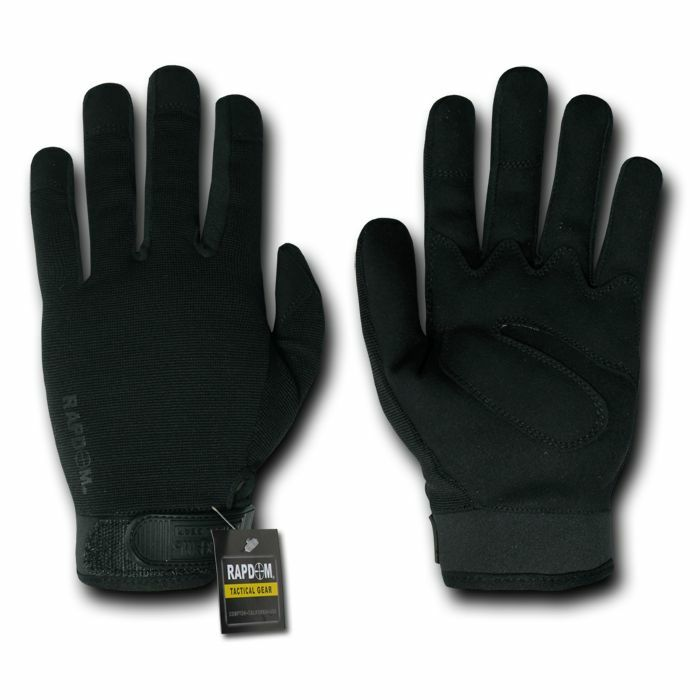 Rapid Dom Lightweight Tactical Gloves Military Combat Patrol Black