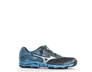 Scarpe-MIZUNO-Donna-Running-Donna-GRIGIO-CELESTE-PU-Tessuto-J1GK157203