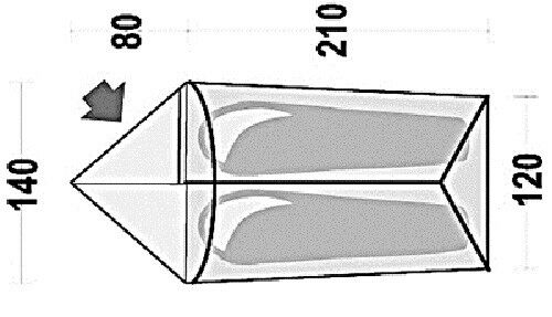 Ferrino Manaslu 4-temporada-carpa y 2 personas ligeramente y 4-temporada-carpa compacto monta rápidamente cc423b