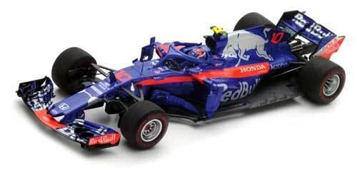 Scuderia TGold rot Honda STR13 Pierre Gasly Bahrain 2018 - 1 43