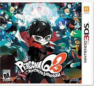 PERSONA Q2 New Cinema Labyrinth Nintendo 3DS Standard NTSC-US Brand New