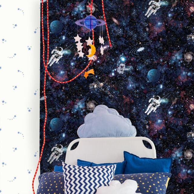 Intergalactic espacio Papel Pintado - Holden Decoración 12500 NUEVO Hombre