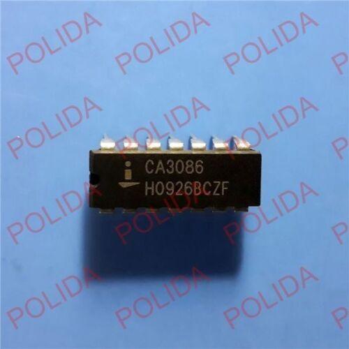 5PCS IC INTERSIL//HARRIS DIP-14 CA3086 CA3086E