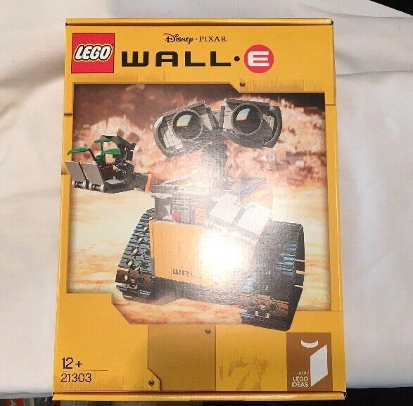LEGO Idee Wall-E Set 21303 da 2015  Nuovo Di Zecca