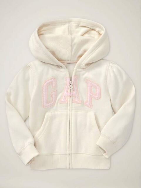 NWT Baby Gap Girls Size 12 18 24 Months 2t 3t 4t or 5t Ivory Bear Hoodie Sweater