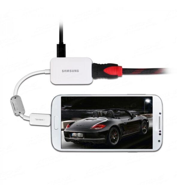 SAMSUNG MHL 2.0 Micro USB to HDMI 1080p TV HDTV Adapter for Samsung galaxy tab S