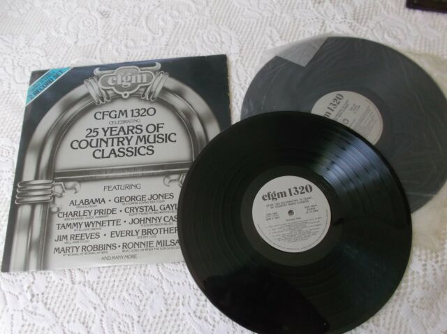 25 Years of country music classics LP Album  Canada pressing