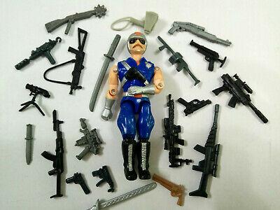 "Gi joe 3.75/"" use accessory Sub Machine Gun x 10 loose rare !!!"