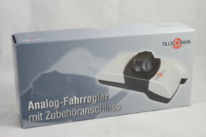 TILLIG-BAHN-08132-Analog-Fahrregler-mit-Zubehoeranschluss-NEU-amp-OVP