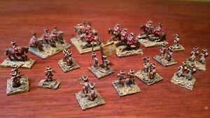 Cbg Mignot Armée Napoleon 32 Soldats Dont 12 A Cheval Hauteur Figurine 7 Mm