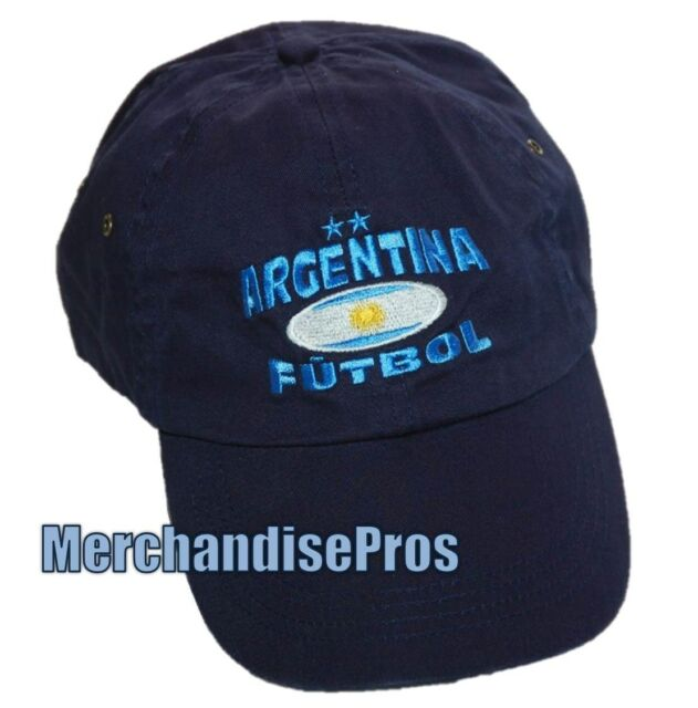 MEN S FIFA WORLD CUP ARGENTINA FUTBOL FOOTBALL SOCCER CAP 100% COTTON NEW! f8433873697