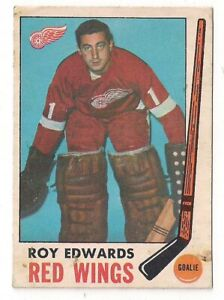 1969-70-OPC-O-PEE-CHEE-Roy-Edwards-Detroit-Red-Wings-CARD-56-Vintage