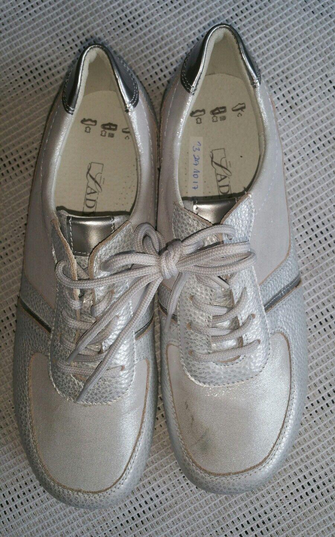 Ladysko Damenschuhe Halbschuhe  Sneaker  Grau Gr.38