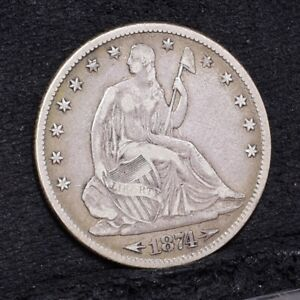 1874-Liberty-Seated-Half-Dollar-VF-29636