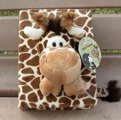 80 Pages Cartoon Fluff Soft Doll Photo Plush Album for Baby Family