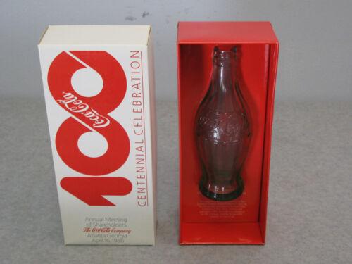 Centennial Celebration Rare 1986 Root Commemorative Coca-Cola Coke Bottle