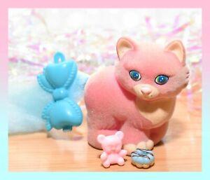 ❤️Vtg Li'l Lil Litters My Little Kitty Pony MLP PRECIOUS PERSIAN Mommy Cat❤️