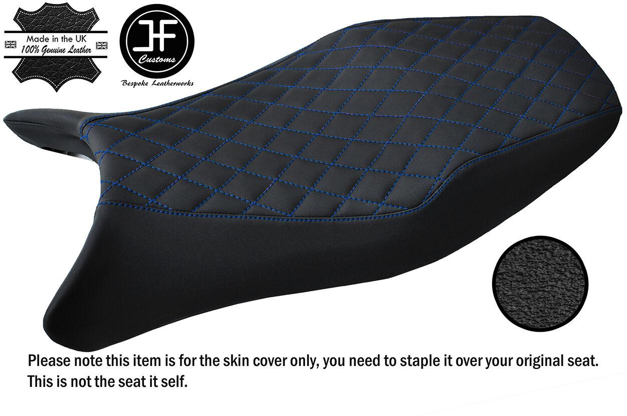 STYLE 4 R BLUE ST CUSTOM FITS HONDA CBR 1100 XX SUPER BLACKBIRD VINYL SEAT COVER