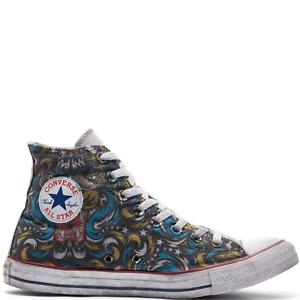 Converse All Star Chaussures Hommes Chuck Taylor Hi Tatouage Italian Edition