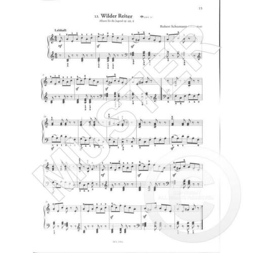 Noten für Klavier herzförmige Notenklammer Die Russische Klavierschule Band 2