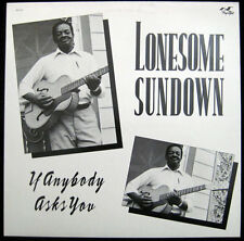 Lonesome Sundown - If Anybody Asks You - Jay Miller - Flyright 617 - New