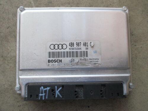 Motorsteuergerät Steuergerät 2.5TDI AUDI VW 4B0907401C AFB AKN