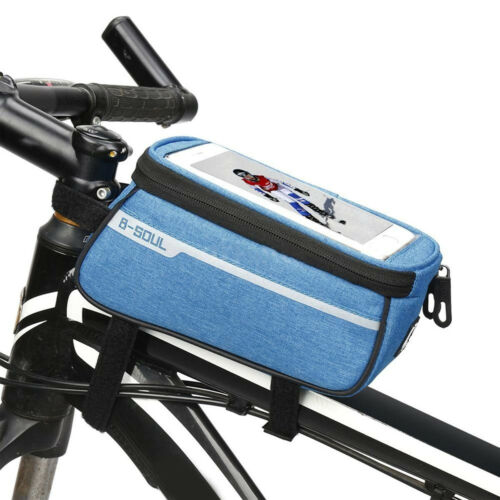 Outdoor Bike Cycling Bag Bicycle Front Frame Waterproof Bag Mobile Phone Pouch