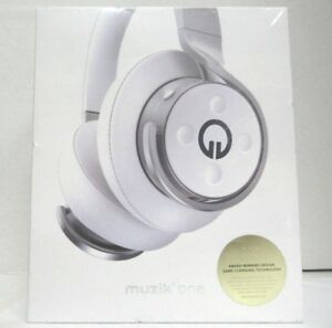 97214cbfa84 Muzik One Connect Wireless Smartware Over-the-Ear Headphones - White ...