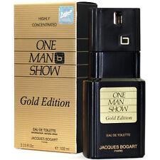 JACQUES BOGART ONE MAN SHOW GOLD ED. EAU DE TOILETTE HOMME 100ml VAPO / BLISTER