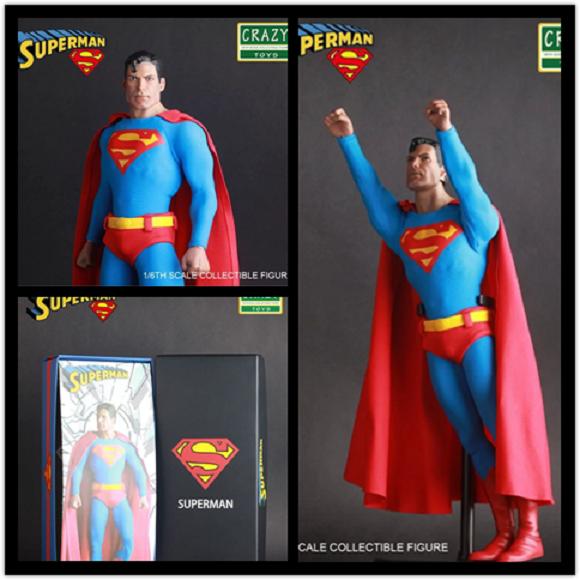 DC COMICS Uomo di Acciaio 12 Superuomo Clark Kent Statua cifra Statuina NUOVO
