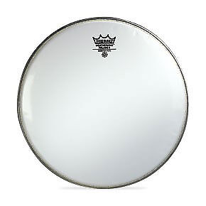 "Remo 14/"" Smooth White Falams II Batter Crimplock Drumhead"