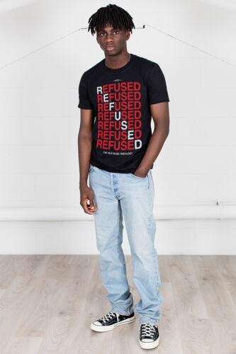 Officiel refusé Nouveau bruit théologie Unisexe T-shirt Freedom Band Rock Métal Merch
