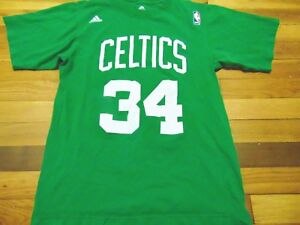 VINTAGE ADIDAS NBA BOSTON CELTICS PAUL PIERCE GREEN JERSEY T-SHIRT ... 964b0ad0a