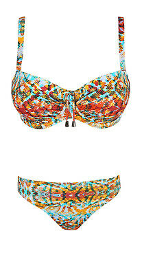 Prima Donna Swim Biloba Bikini Slip Tropical Garden Weiß Rioslip Hose 4004150