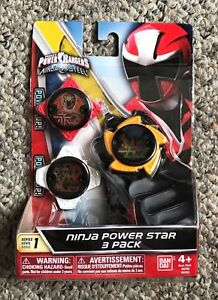 power rangers ninja steel ninja power star element star water mode pack series 1 | ebay