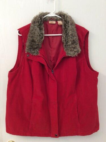 Vintage North Crest Women's Size 2X (20w/22w) Red