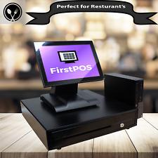 Firstpos 17in Touch Screen Pos Epos Cash Register Till System Retail Restaurant